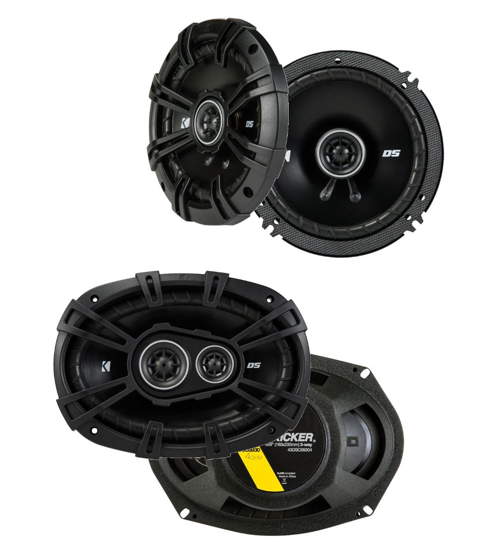 Dodge Viper 2003-2009 Factory Speaker Upgrade Kicker DSC693 DSC65 Package New