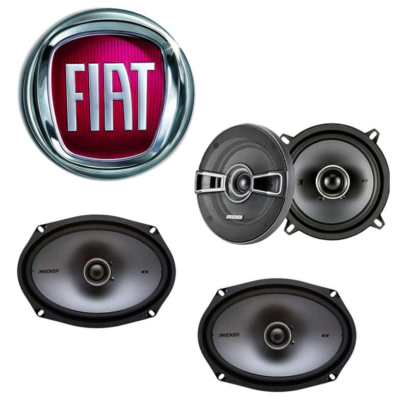 Fiat 131 1990-1983 Factory Speaker Replacement Kicker KSC5 KSC69 Package New