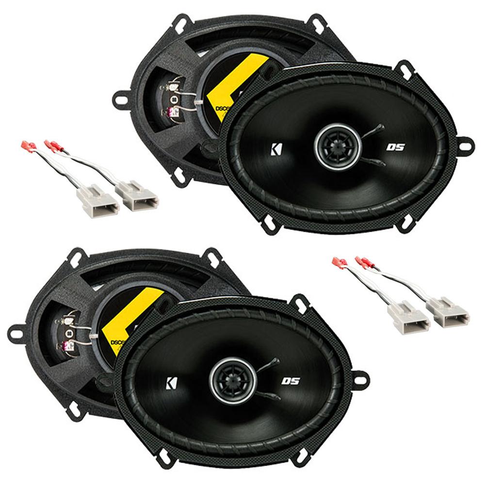 Ford Econoline Full Size Van 1997-2008 OEM Speaker Upgrade Kicker (2) DSC68 New