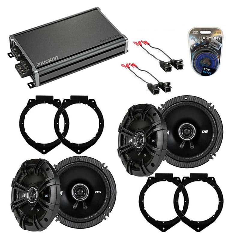 Compatible with GMC Yukon XL 2001-2002 Factory Speaker Replacement Kicker DSC5 DSC65 & CXA360.4
