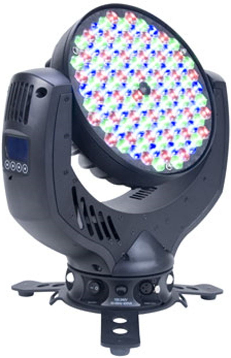Elation IMPRESSION 120RZ 120 Luxeon Rebel High Power LEDs RGB Additive Color mixing lighting system Linear Zoom 10? to 26?