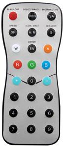 Elation DLED RFR Rf Remote Control For DLed Strip RGBWA