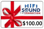 HiFiSoundConnection $100.00 Gift Certificate