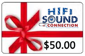 HiFiSoundConnection $50.00 Gift Certificate