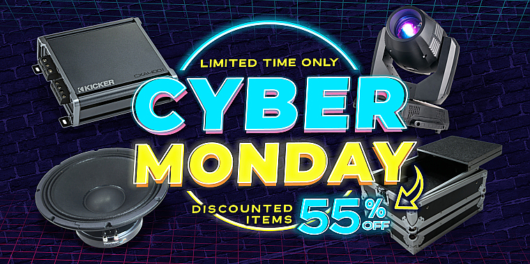 Save Up to 55% Cyber Monday Sale!